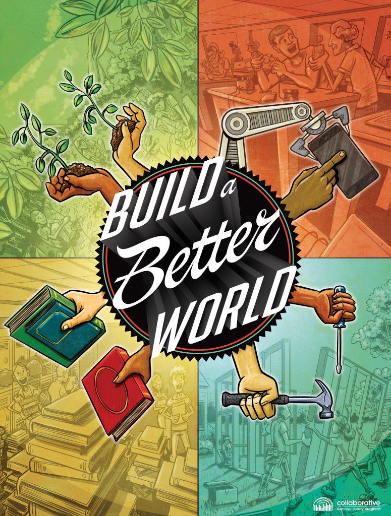 Summer Reading 2017 - Build a Better World logo