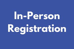 In-Person Voter Registration