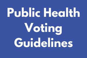 Public Health Voting Guidelines